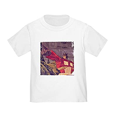 CafePress Transformers Vintage Roll Out - Cute Toddler T-Shirt, 100% Cotton