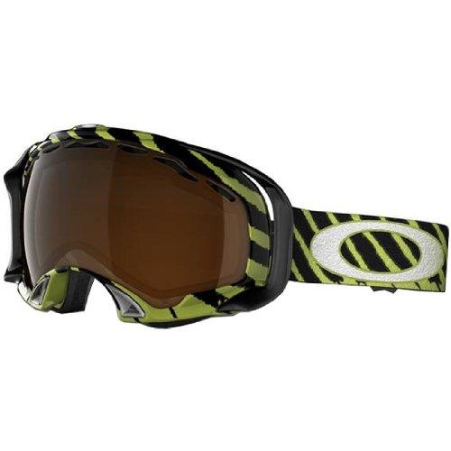 Oakley Shaun White Splice Highlight Adult Special Editions Signature Series Snocross Snowmobile Goggles Eyewear - Enamel Mint/Black Iridium
