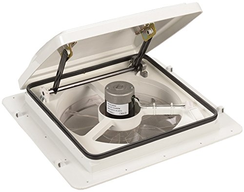 Maxxair 00-04301K White Roof Top MaxxFan with Mounting Tabs