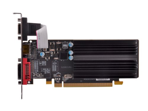 XFX AMD Radeon HD 5450 1GB GDDR3 VGA/DVI/HDMI Low-Profile PCI-Express Graphics Card HD545XZQH2;HD-545X-ZQH2
