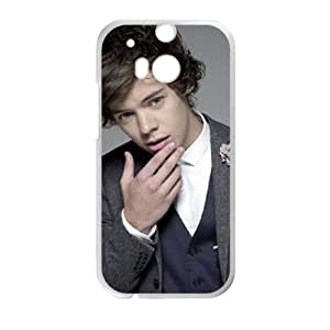 HTC One M8 Cell Phone Case White Harry Styles AMF Durable Personalized Cell Phone Case