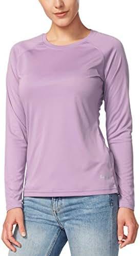 BALEAF Women's UPF 50+ Sun Protection T-Shirt Long/Short Sleeve Outdoor Performance