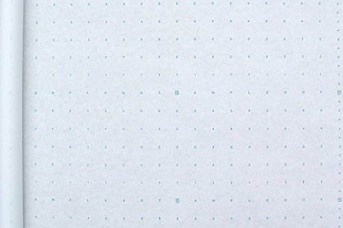 1 Roll of Alpha Numeric Dotted Marking Paper / Pattern Paper (48 inches x 10 yards) Optimum Performance - Made in the USA