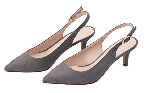 Velveteen Camssoo Pour Femme 1uk Grey Hb1674 Escarpins OUUwYT0q
