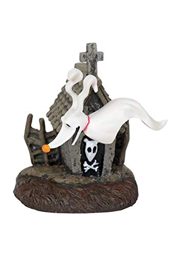 """Department56 Nightmare Before Christmas Village Accessories Zero and his Dog House Figurine, 2"""", Multicolor -  Department 56, 6001203"""