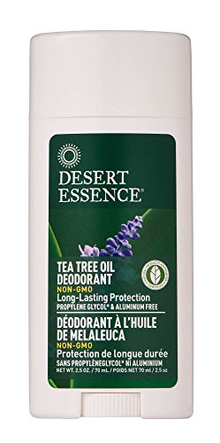 Desert Essence Tea Tree Oil Deodorant(3pk)- 2.5 oz