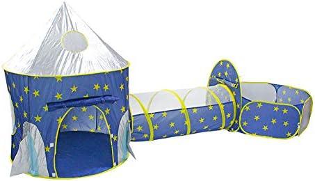Nbibsaacy Cubby Túnel Niños Tienda de Campaña Pop Up Casa de Juego ...