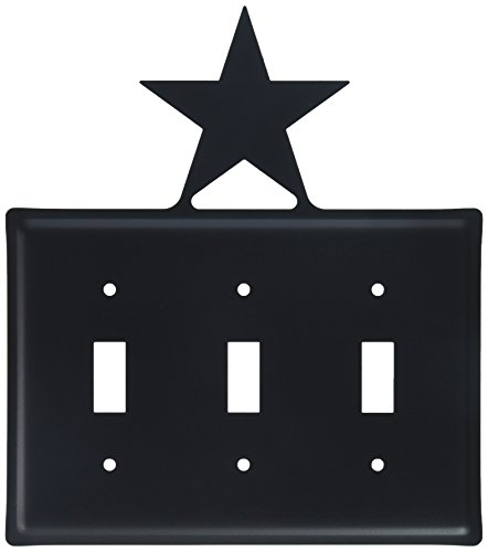 8 Inch Star Triple Switch Cover
