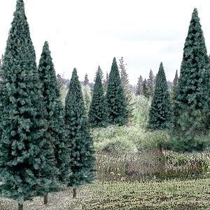 Woodland Scenics Ready Made Trees Value Pack 4