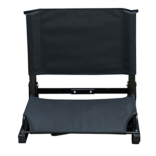 Seatersuite Bleacher Buddy Chair | Fits most Bleachers | Bungee Cord Cushioning for Portable Luxury Bleacher Seat