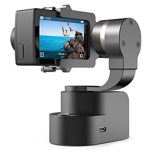 yi 4k action camera bundled 3 axis gimbal stabilizer selfie stick bluetooth remote travel case. Black Bedroom Furniture Sets. Home Design Ideas