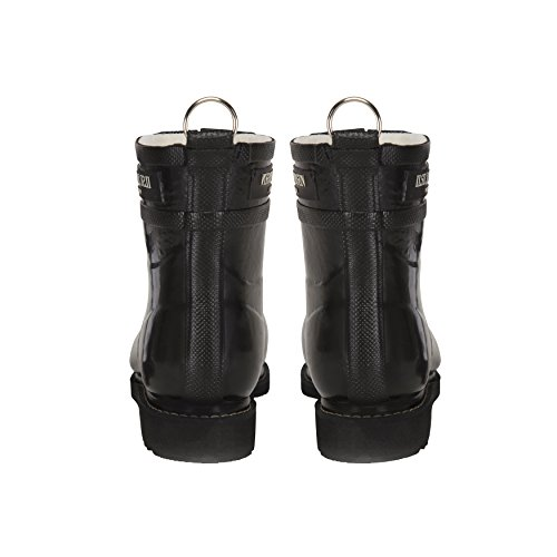 Ilse Jacobsen Rub2 Matte Black Rubber Ankle Rain Boots Shoes New by ILSE JACOBSEN (Image #2)