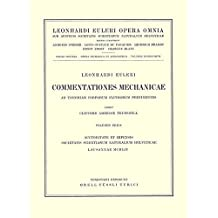 Commentationes mechanicae ad theoriam corporum fluidorum pertinentes 1st part