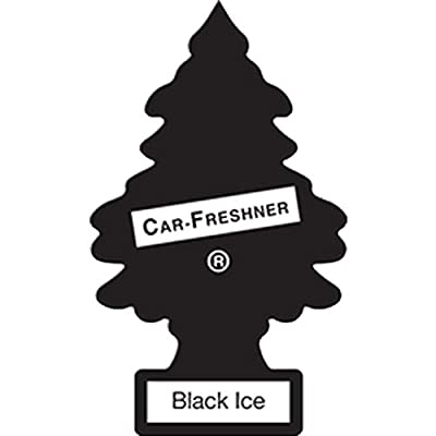 Little Trees Hanging Car and Home Air Freshener, Black Ice, 1: Automotive