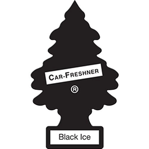 076171101556 - Little-Trees Black Ice Little Tree Air Freshener- 24 Pack carousel main 1