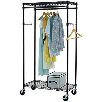 Amazon Com Tidyliving Garmen Heavy Duty Garment Rack