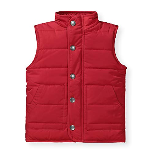 (Hope & Henry Boys' Puffer Vest Red)