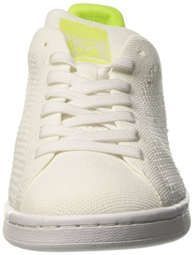 White Blanco Footwear Yellow Stan Adidas Mujer Footwear Solar Primeknit Smith Zapatillas White para 8xgUaw1