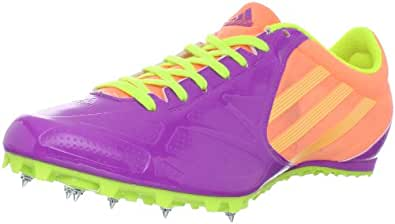 adidas Women's Spider 3 Track Cleat,Ultra Purple/Electricity/Ultra Bright,6 M US