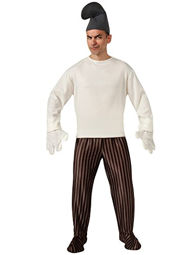 Hackus Smurf 2 Costume Adult White One Size