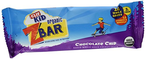 Clif Kid Z Bar - Chocolate Chip - 6 ct - Kid Z-bar Chocolate