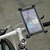 FidgetFidget Pad Holder in Tablet Mount Spin Exercise Bike Handlebar Adjustsable