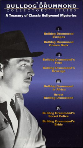 The Bulldog Drummond Collectors' Series [VHS] by Homevision