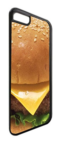 Cheesburger- TM Apple iPhone 5, 5s Universal Dual Protective Black Plastic with Soft Black Rubber Lining iPhone Case Made in the USA