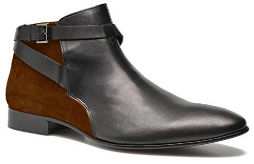 11sunshop Clark Modello Classico Scarpe Di Pelle Scamosciata E Hgilliane Design In Pelle In Marrone 33-46