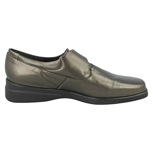 Nil Simile Ladies Narrow Fitting Shoes Hampshire Gunmetal (Grey) 9dsX2M
