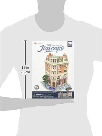 Daron Worldwide Trading Corner Savings Bank 94Piece 3D Puzzle
