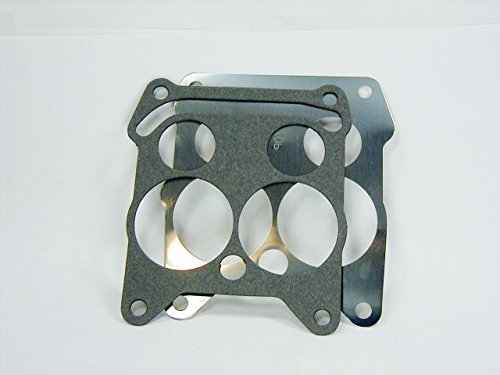 (Metal & Paper Base Gasket Set For Rochester Quadrajet 4 BBL Carburetor in 1965-1969 Chevy GMC (Metal & Paper Gasket)