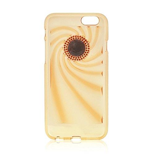 Phone Taschen & Schalen Für IPhone 6 Plus & 6S Plus Modische Ultradünn Diamond verkrustete TPU Schutzhülle ( Color : Gold )