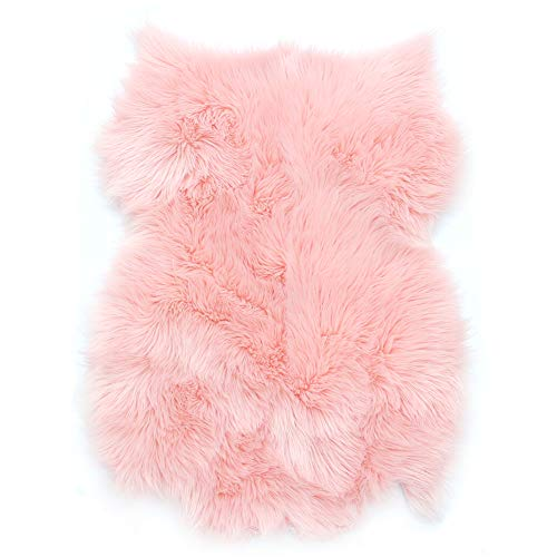 - MHJY Faux Fur Sheepskin Rug,Soft Fluffy Area Rug Couch Sofa Cover Chair Pads Seat Cushion Throw Rug for Bedroom Living Room Plush Carpet(2 ft x 3 ft