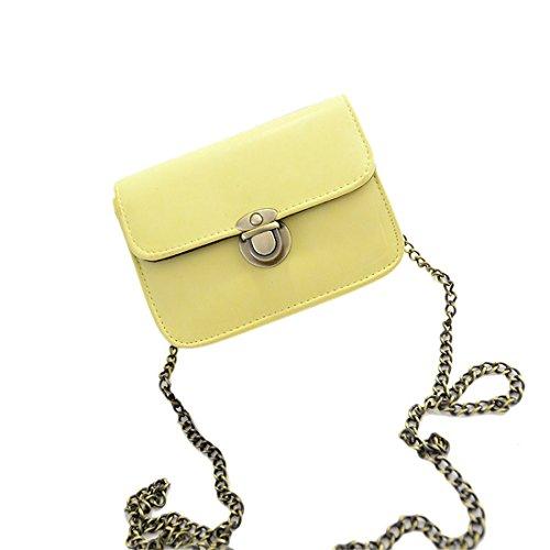 fille Joli s en jaune Noir à cuir synthétique bandoulière Brezeh sac pour 0q0zRrf