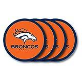 Duck House NFL Denver Broncos Vinyl Coaster Set (Pack of 4)