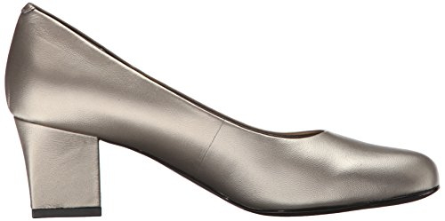 Dress Candela 6 Nude Women's Patent Pump 5 Pewter W Trotters US PBAqE5wx
