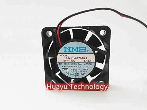 huayu for Original Minebea NMB4010 4cm 5V Dual Ball Cooling Fan 1604KL-01W-B40