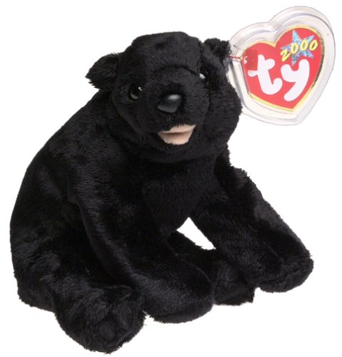 Ty Beanie Baby ~ CINDERS the Bear ~ MINT with MINT TAGS ~ RE