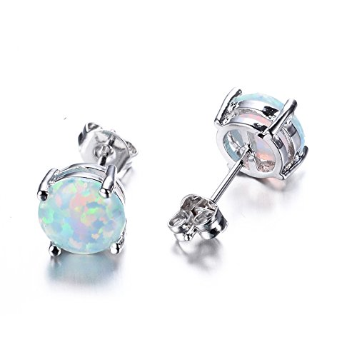 rongxing-jewelry-cute-925-womens-and-girls-jewelry-blue-opal-silver-stud-earring76mm76mm