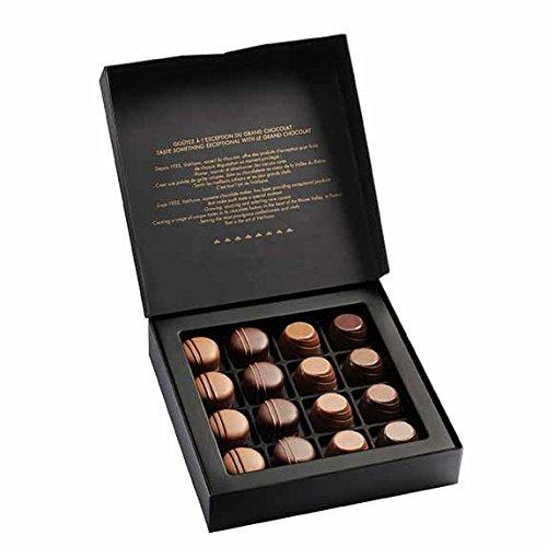 Valrhona Assortment of 16 Chocolate Bonbons Ganaches Holiday Gift box