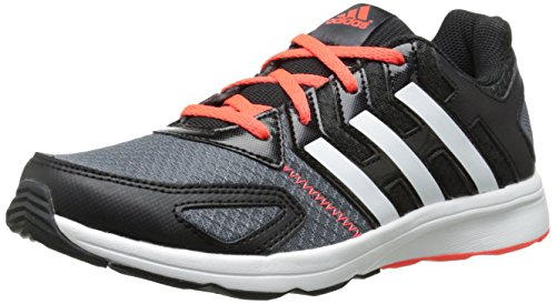 adidas Performance AZ Faito K Running Shoe (Little Kid/Big Kid), Core Black/Running White/Infrared, 10.5 M US Little Kid
