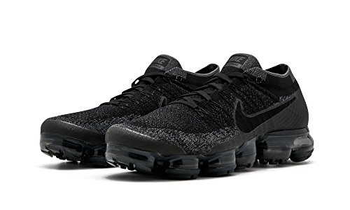 007 Nike Vapormax Black Dark de Grey Anthracite Chaussures Flyknit Noir Homme Trail Air 77Oqr14