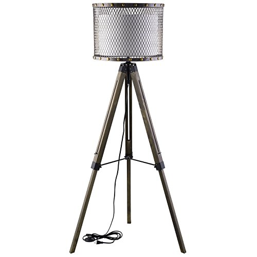 Modern Urban Contemporary Floor Lamp, Silver - Italian Sconce Contemporary