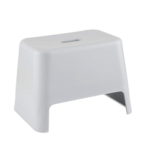 Schuhe Sitzhocker Aufbewahrungshocker Fußhocker Bambushocker Arbeitshocker Badezimmer Anti-Rutsch-Hocker Dicker Plastikhocker