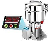 Marada 750g Pulverizer Grinding Machine Stainless Steel 25000 r/min Pulverizer Machine for Kitchen Herb Spice Pepper Coffee Powder Grinder (750g)