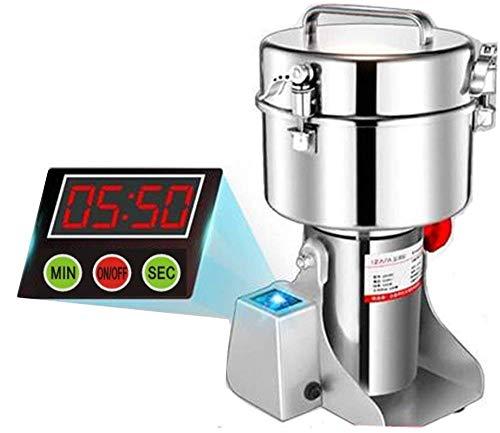 Marada 750g Pulverizer Grinding Machine Stainless Steel 25000 r/min Pulverizer Machine for Kitchen Herb Spice Pepper Coffee Powder Grinder (750g)  by Marada (Image #11)