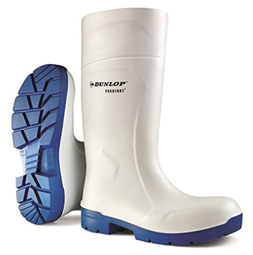 Dunlop Mens Food Pro Multigrip SRC Safety Welly Wellington Boots blanco