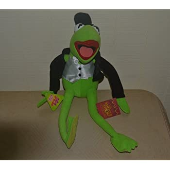 "18"" Kermit the Plush the Frog Muppet Show 25 Years Jim Henson Nanco"
