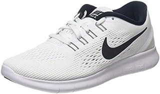 Opcional plan de estudios recoger  Nike Free Run Women's Running Shoes - SU16-6.5 - White (B014EC8KJ2 ...